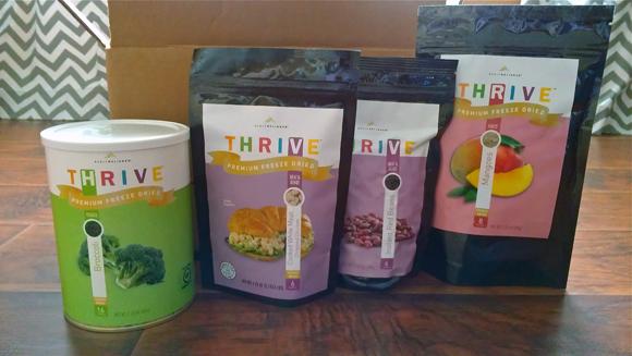 Shelf Reliance Thrive Food Review