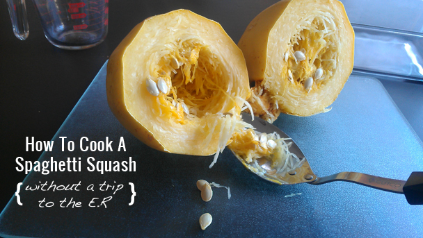HowToCookASpaghettiSquash(WithoutATripToTheE.R.)| NaturallyMyDear.com
