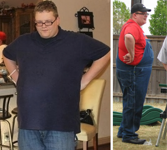 Motivational Monday: Dustin's Determination Turns Back Clock and Banishes Health Challenges | NaturallyMyDear.com | DustinBefore