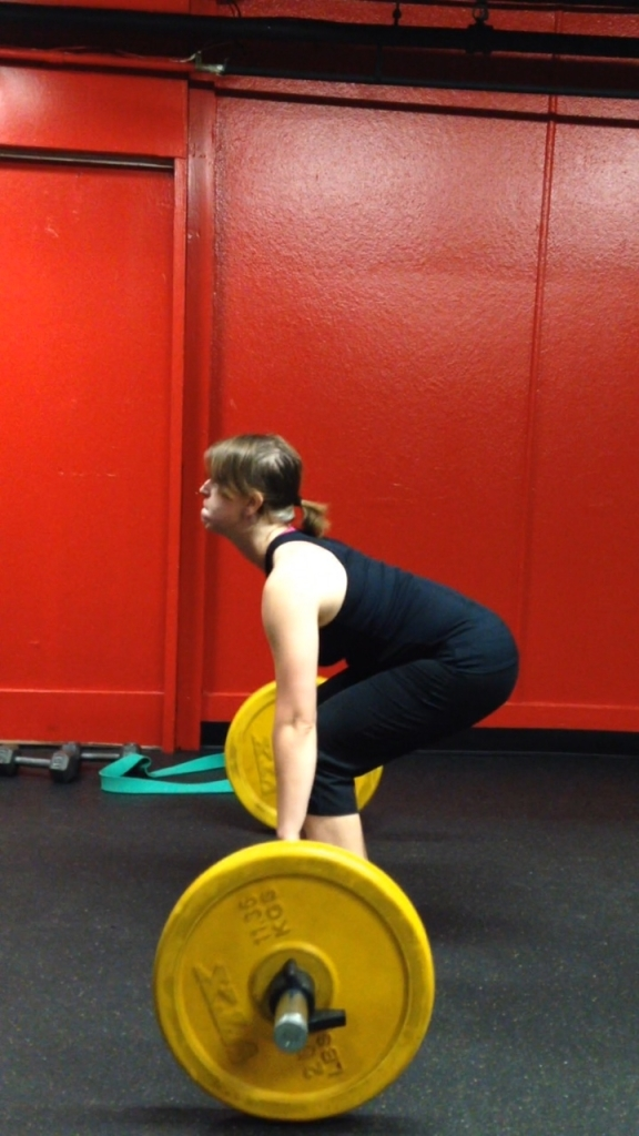 2nd day deadlifting with the olympic bar